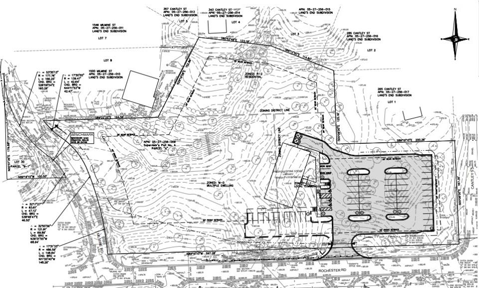 New Building Site Plan, February 2019