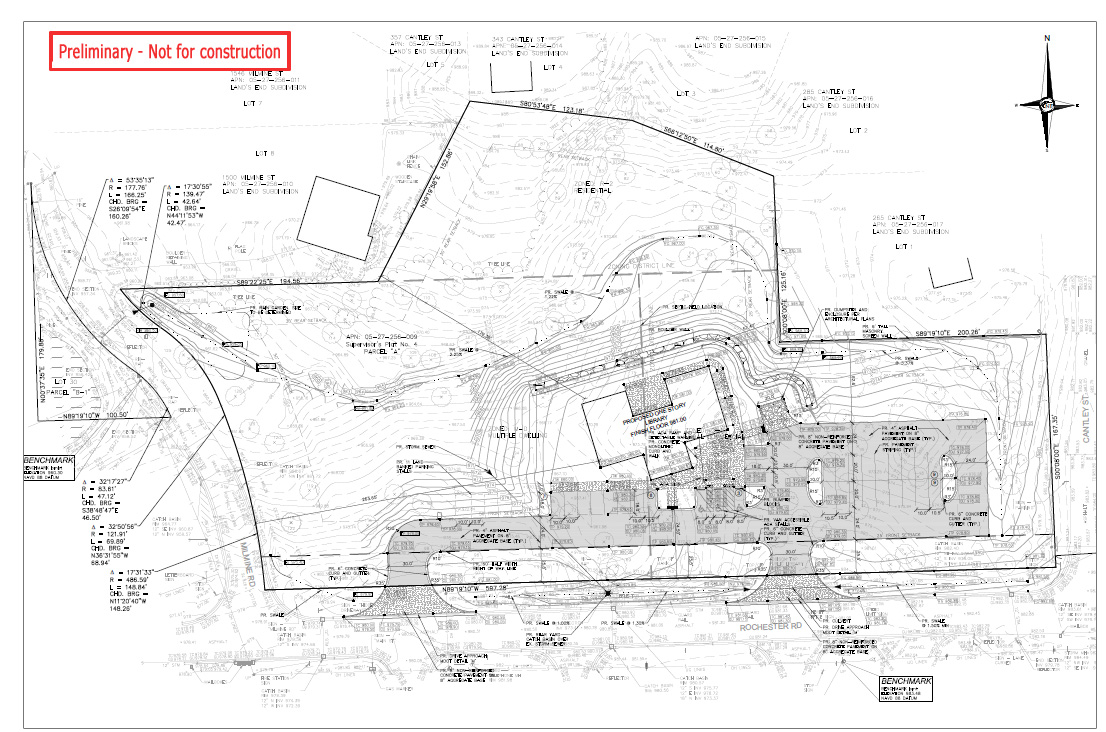 New Building Site Plan, July 2019